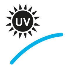 Die Brillengläser schützen die Augen vor schädlichen UV-Strahlen