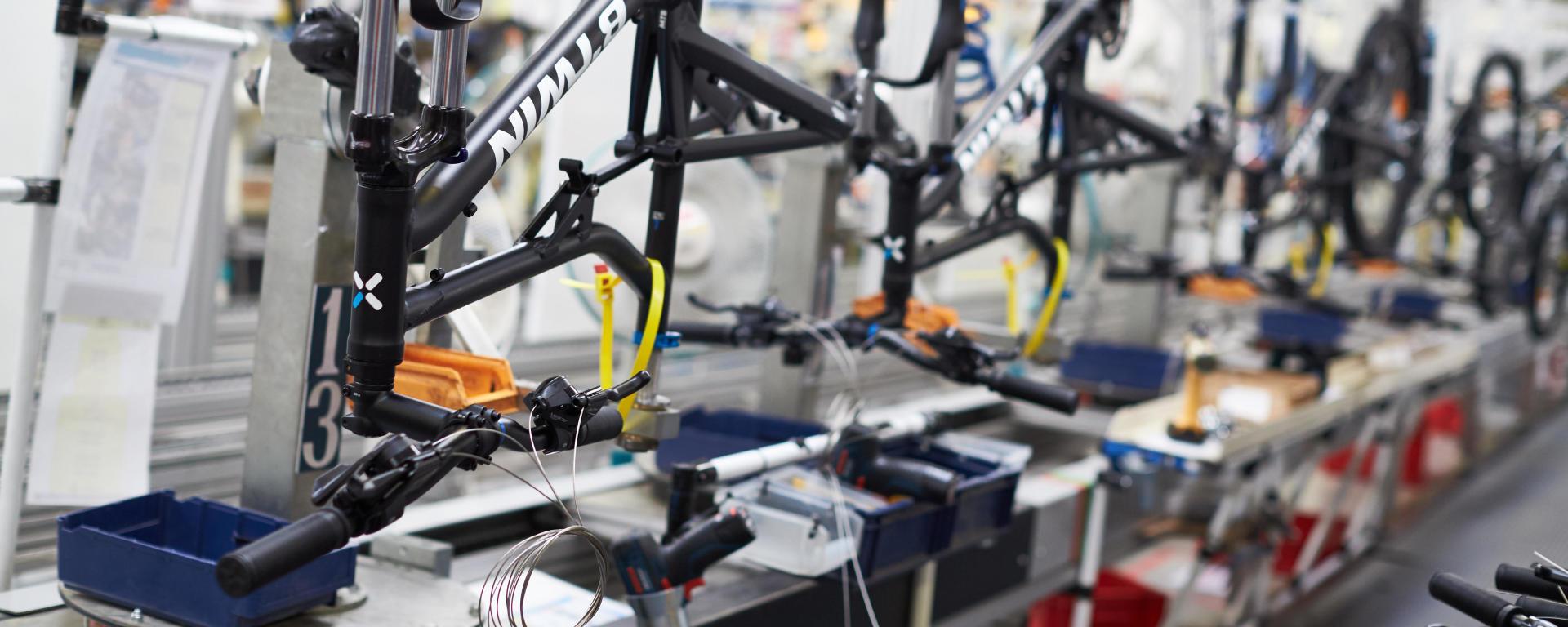 Production guidon de vélo