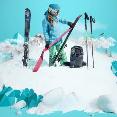 Skitourengehen mit DECATHLON entdecken – hier findest du unsere Tipps dazu.