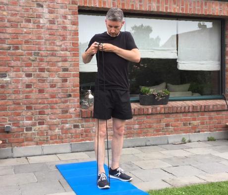 關於跳繩的使用方式: