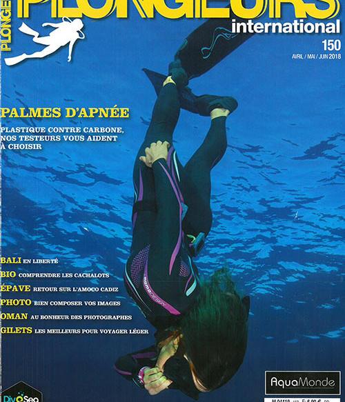 couverture plongeurs international avril mai juin 2018