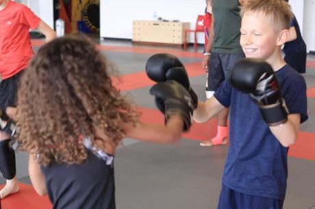 boxe cours pour les enfants