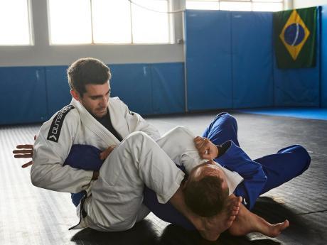 jiu-jitsu combat
