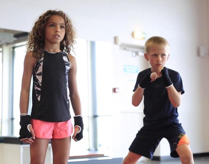 Vidéo boxe 6 - 12 ans