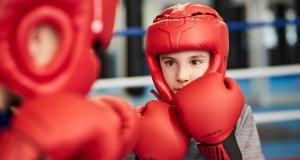 Mon fils adore la boxe !