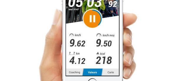 telephone application decathlon coach