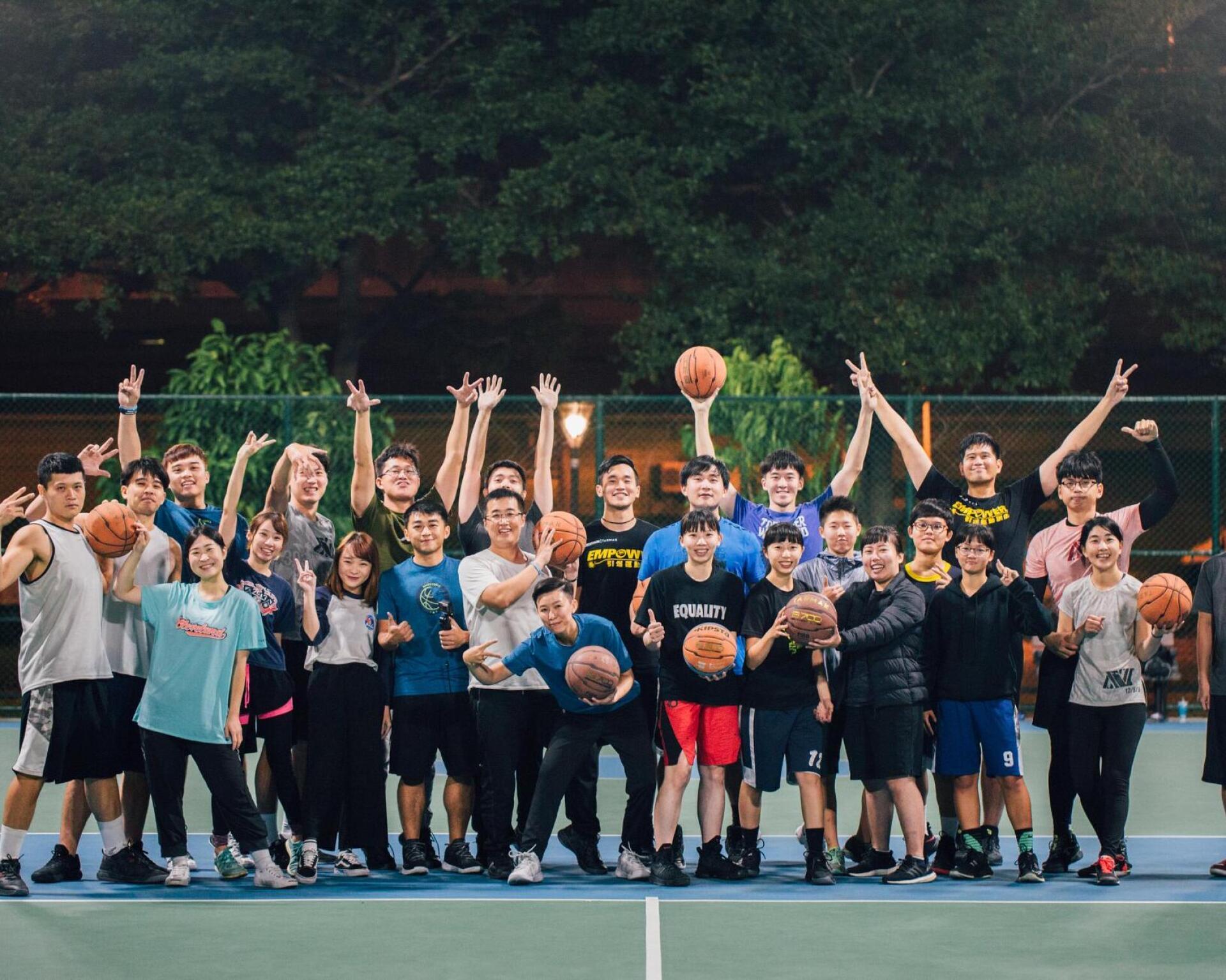 迪卡儂台中籃球運動社團 籃球日