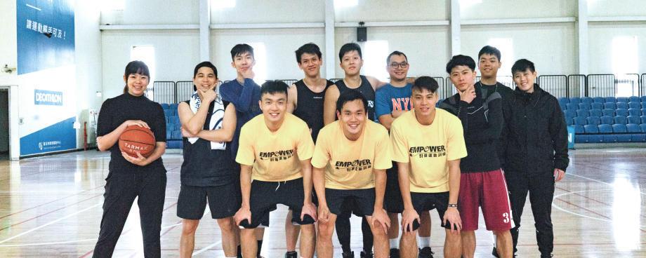 迪卡儂台北籃球運動社團