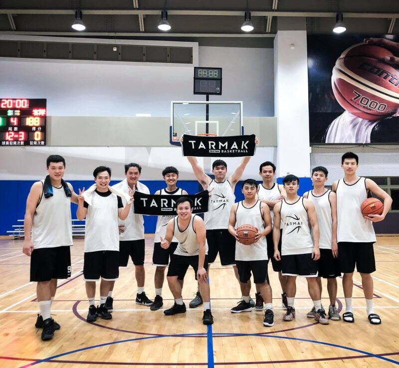 迪卡儂台灣籃球運動社團資訊