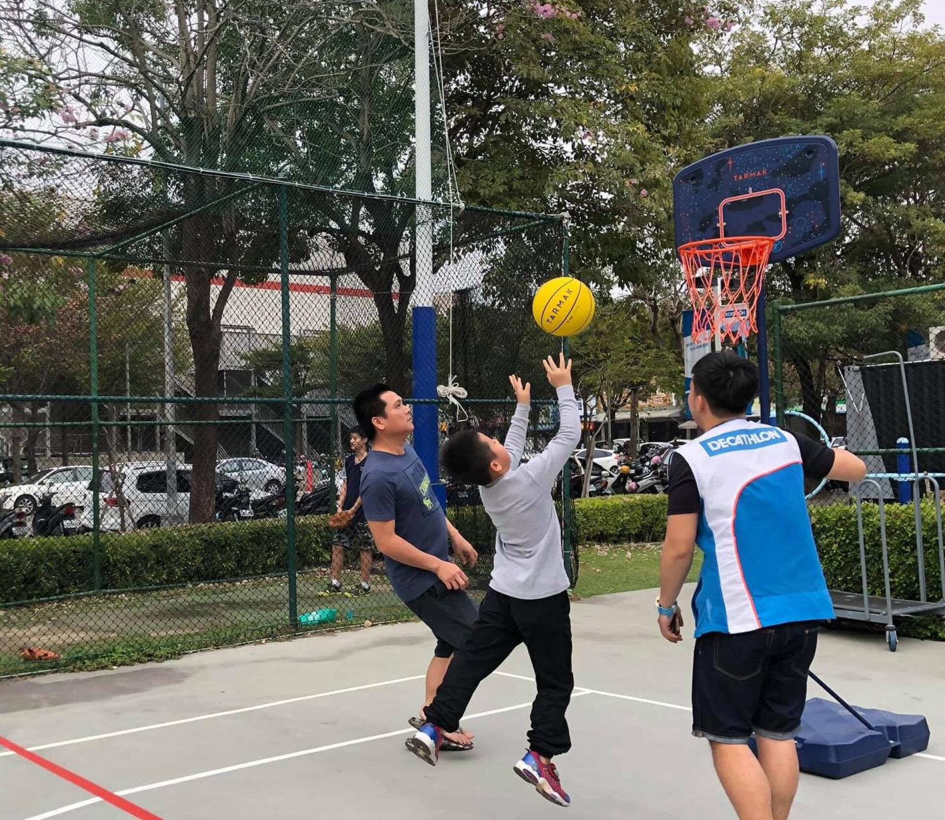 迪卡儂台中籃球運動社團 檔期活動