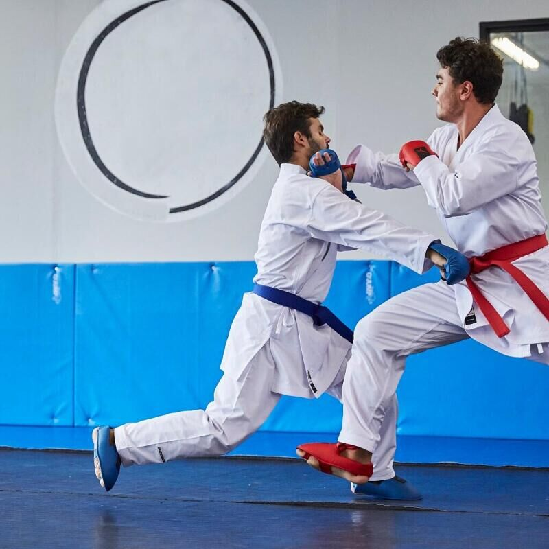 Kumite aanleren bij karate: een lerares aan het woord