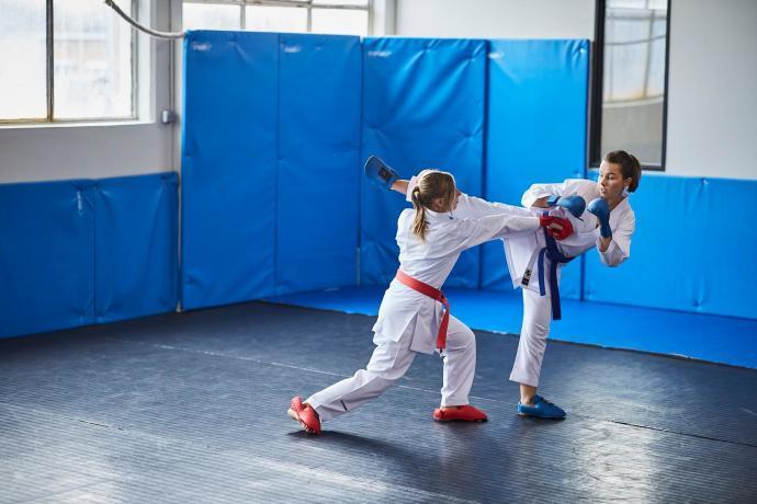 Enseigner le kumite : témoignage d'une prof