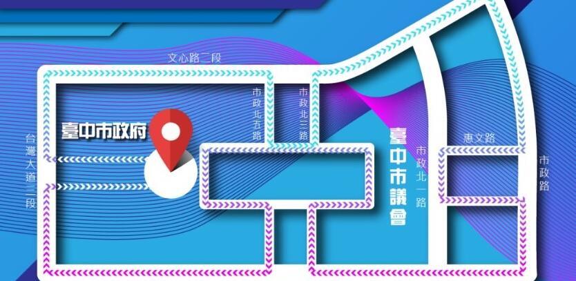 傑人盃接力賽路線圖