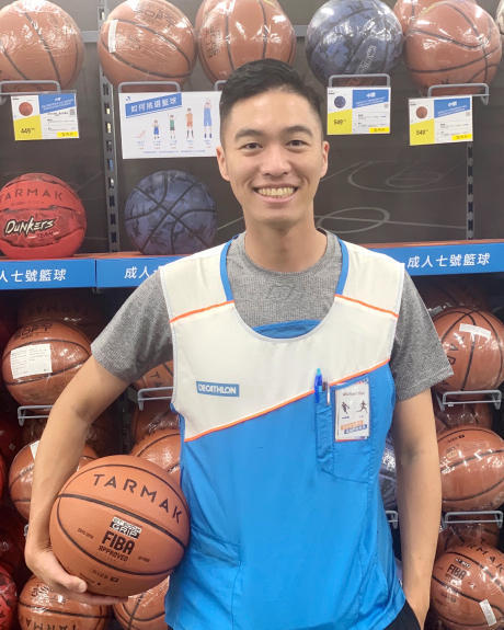 迪卡儂籃球產品店員推薦清單