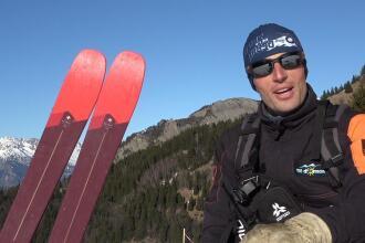 Yann, pisteur-secouriste au Col d'Ornon dans la Vallée de l'Oisans, a testé les nouveaux skis Wedze, PATROL 95, durant toute la saison dernière