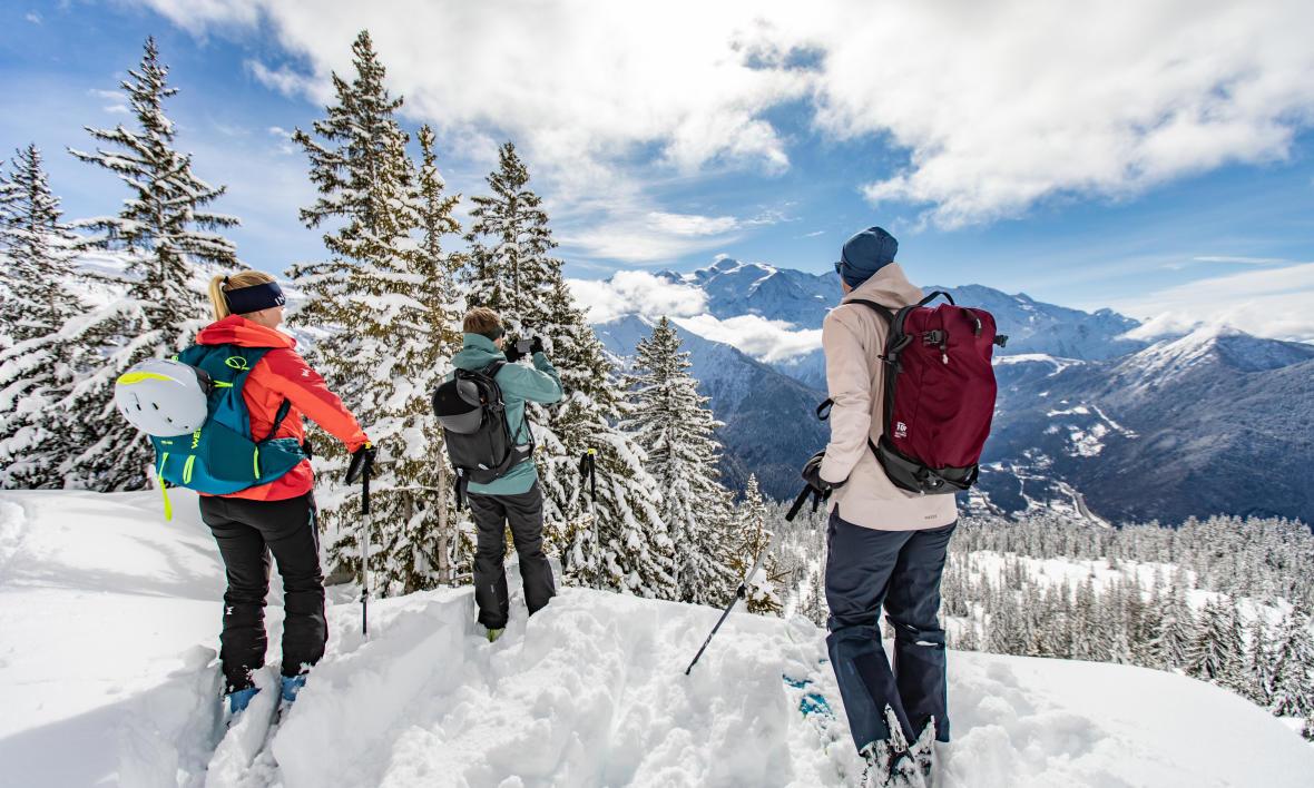 La sécurité en ski de randonnée