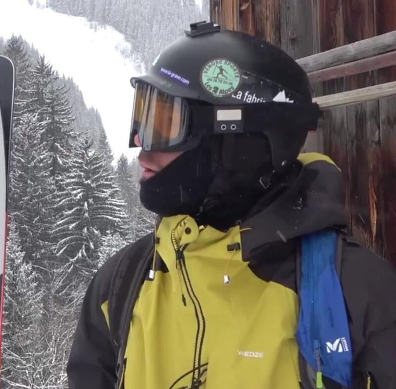 De la page blanche aux skis, l'aventure de Simon co-concepteur Wedze
