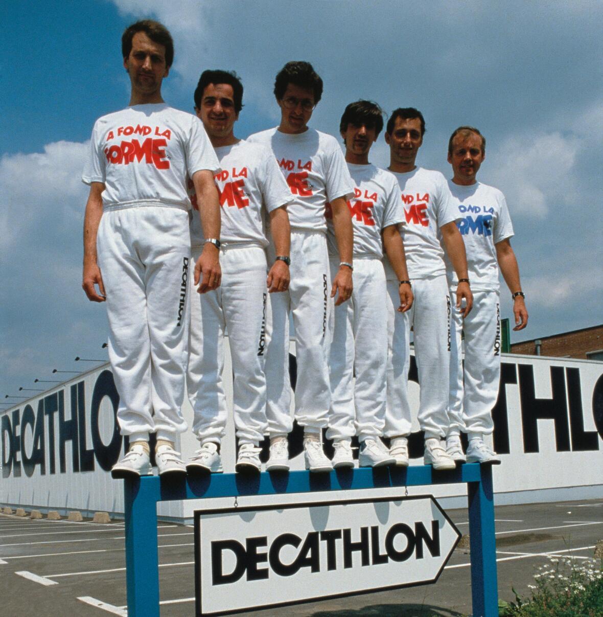 fondateurs créateurs de decathlon