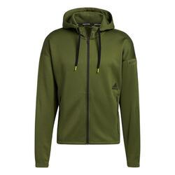 Sweatshirt à capuche adidas Studio Tech Full-Zip