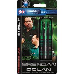 Winmau Brendan Dolan fléchettes steeltip 23gr