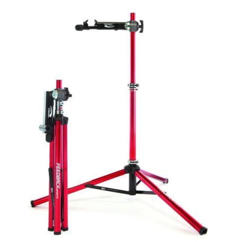 Ultralight support de montage vélo rouge