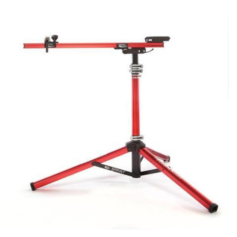Sprint support de montage vélo rouge