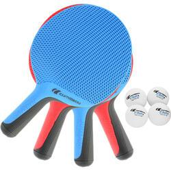 Set des raquettes  de tennis de table Softbat 4 pièces