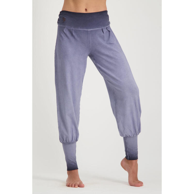 Dakini - Pantalon Aladdin ample confortable  - Off Rock - Gris-violet