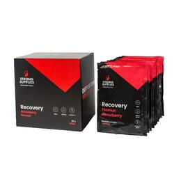 Strong Supplies - Recovery Shake Strawberry (10x100 GR)