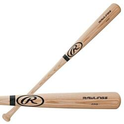 R232AN Bâton de baseball Adirondack en bois de frêne naturel pour adultes