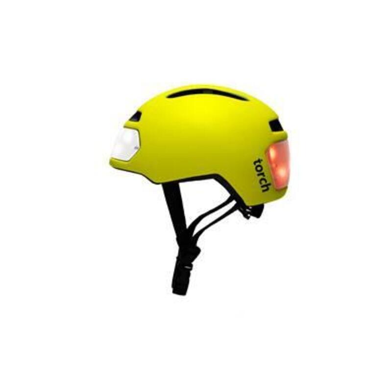 TORCH T2 Fietshelm geel