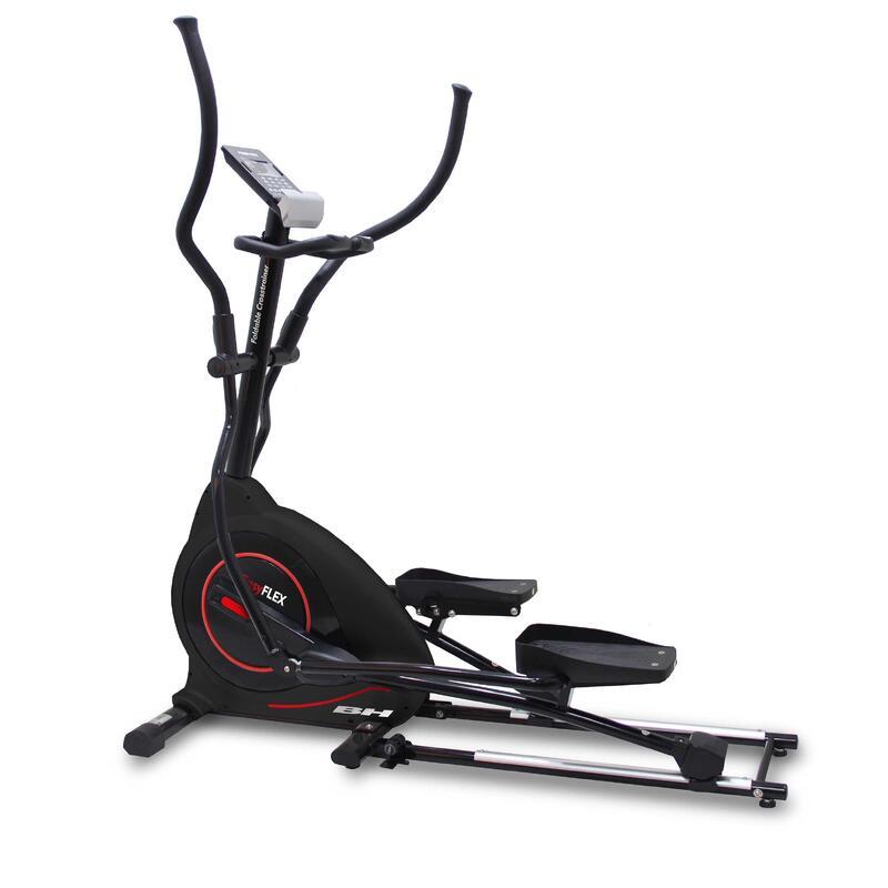 Vélo elliptique EASY FLEX G852 pliant. 45 cm. 20 Kg. Max. 130 Kg USAGE INTENSIF