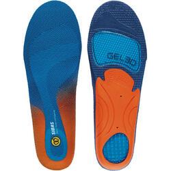 Semelles préformées avec coque stabilisatrice Gel CUSHIONING 3D ,support du pied