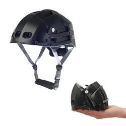 Vouwhelm Plixi FIT zwart voor fiets of step