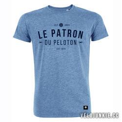 Fietsshirt casual Le Patron du peloton T- Shirt by Vélojunkie