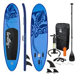 Opblaasbare Stand Up Paddle Board Blauw Limitless, 308 x 76 x 10 cm