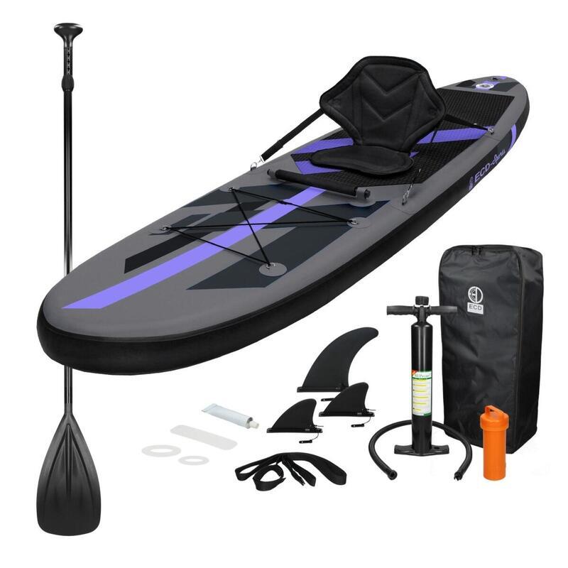 Sedile SUP + Kayak 305x78x15 cm Nero