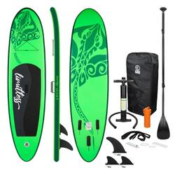 Opblaasbare Stand Up Paddle Board Groen Limitless 308 x 76 x 10 cm