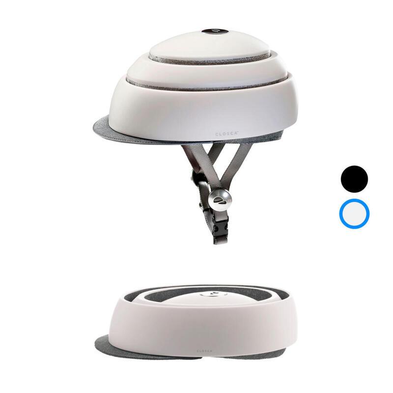 Opvouwbare fietshelm voor volwassenen (Closca Helmet) Wit