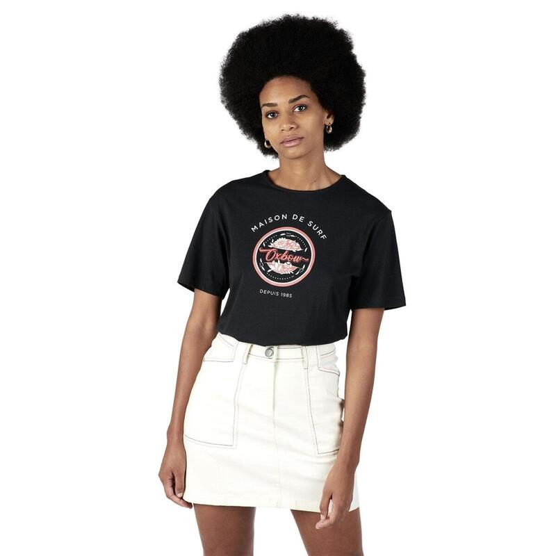 T-shirt met print TARGARIA
