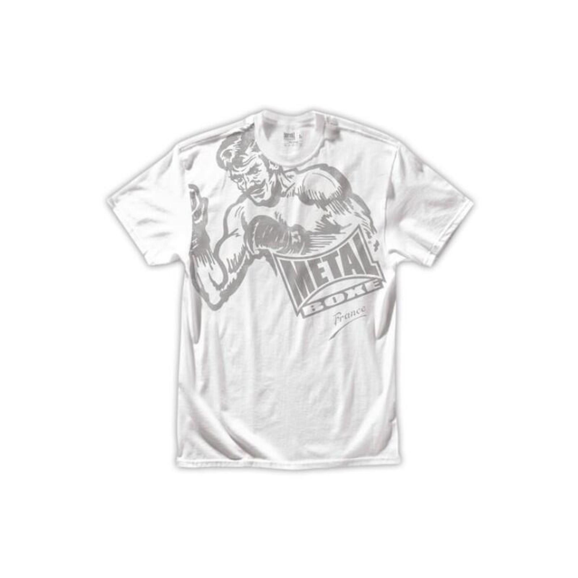 Tee Shirt Oldbox Métal boxe