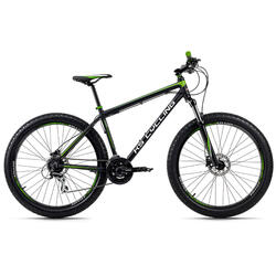 Mountainbike Hardtail 27,5'' Plus Xceed zwart-groen KS Cycling