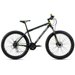 VTT semi-rigide 27,5'' Plus Xceed noir-vert KS Cycling