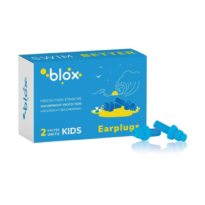 Aqua Enfants - Bouchons d'oreilles pour sports aquatiques - Protection auditive