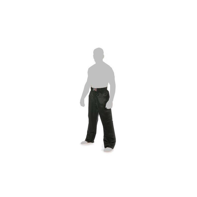 Pantalon Full Contact tout noir satin Adulte