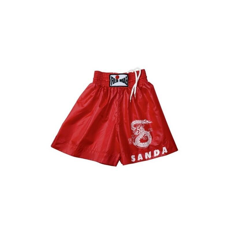 Short Sanda rouge