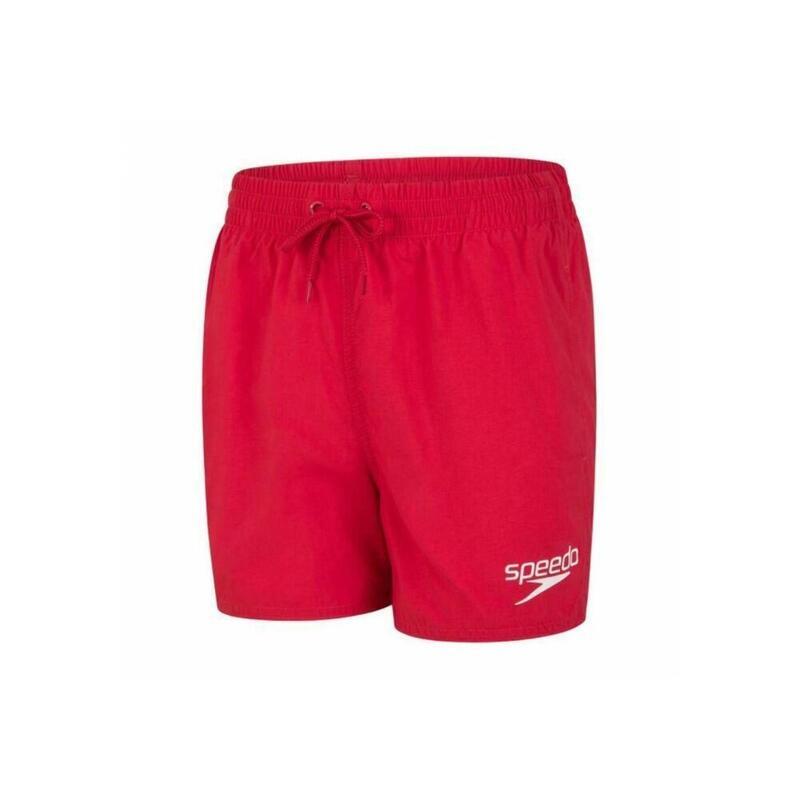 Essentialzwemshorts voor jongens (Rood)