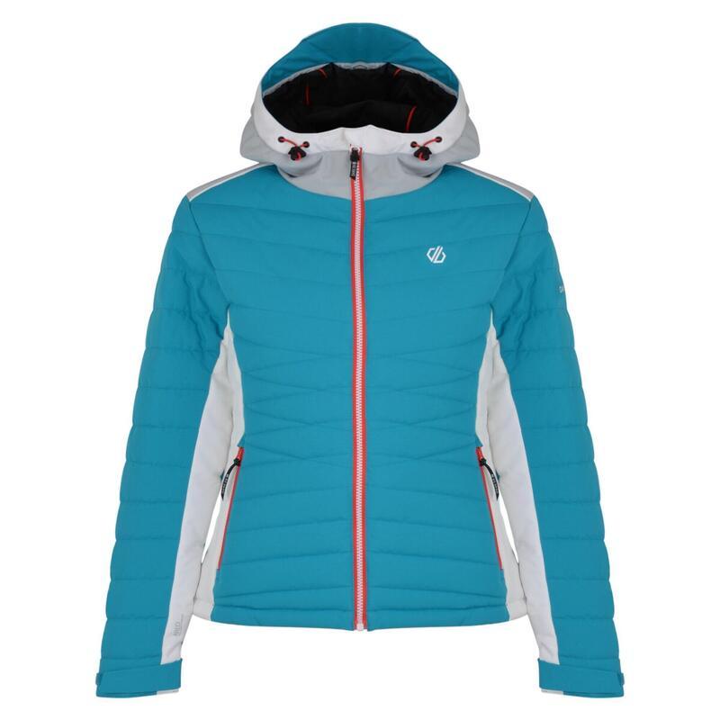 Womens/Ladies Simpatico Quilted Ski Jacket (Fresh Water Blue)