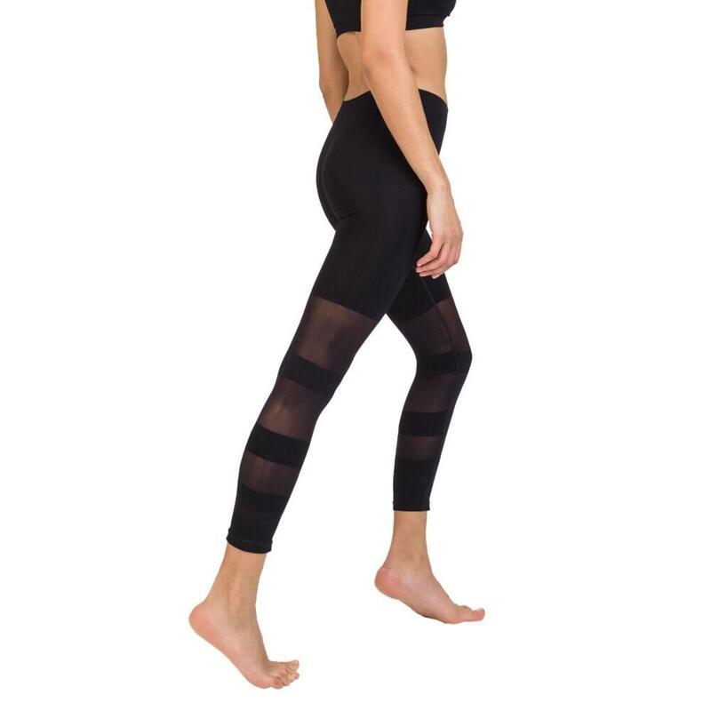 Legging sport ajouré noir Cellutex