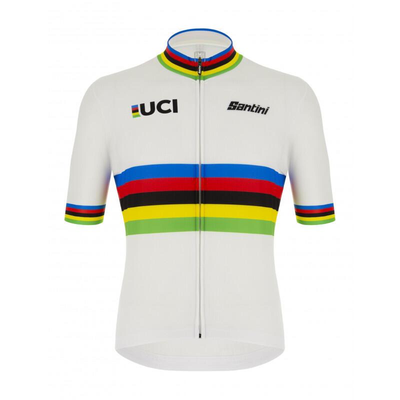 Maglia Campione Del Mondo Eco - Uci Official  Uomo Ciclismo